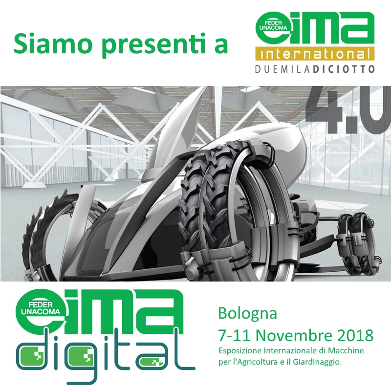 Siamo presenti ad EIMA Interntional 2018 Eima Digital Ynnova